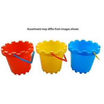 Beach Bucket Castle Large assorted
